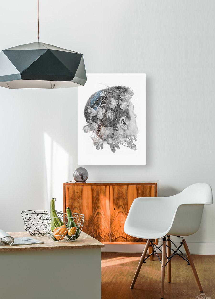 Devine  HD Metal print with Floating Frame on Back
