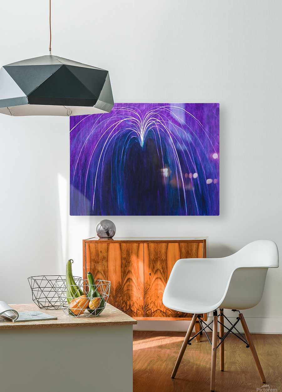 NEUTRALITY  HD Metal print with Floating Frame on Back