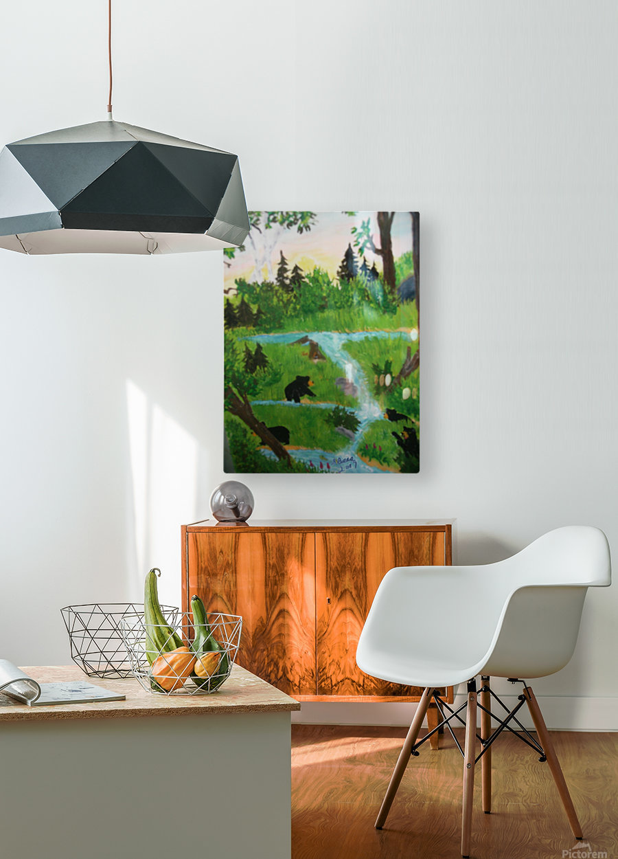 Beer World  HD Metal print with Floating Frame on Back
