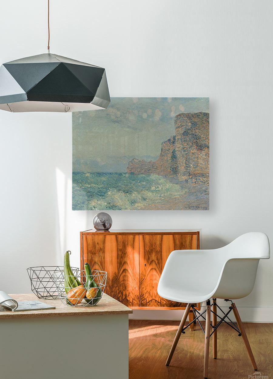 Porte d'Amont, Etretat  HD Metal print with Floating Frame on Back