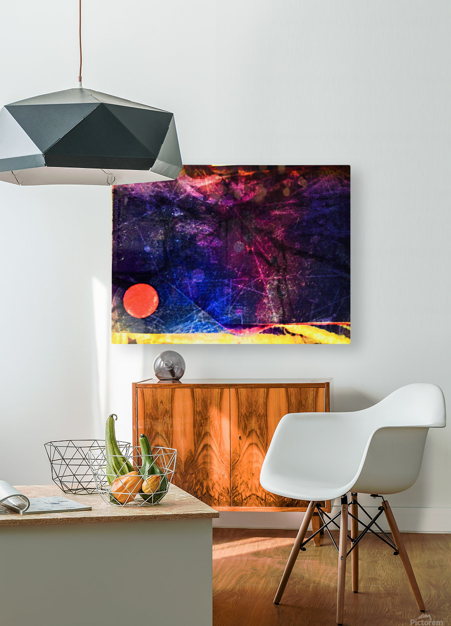 Star Dust  HD Metal print with Floating Frame on Back