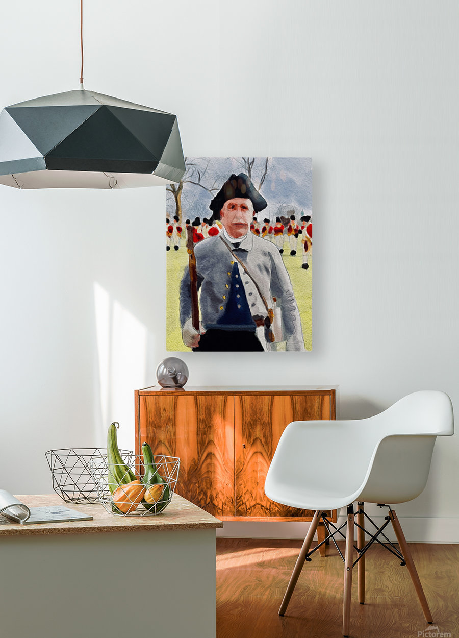 Lexington Guy  HD Metal print with Floating Frame on Back