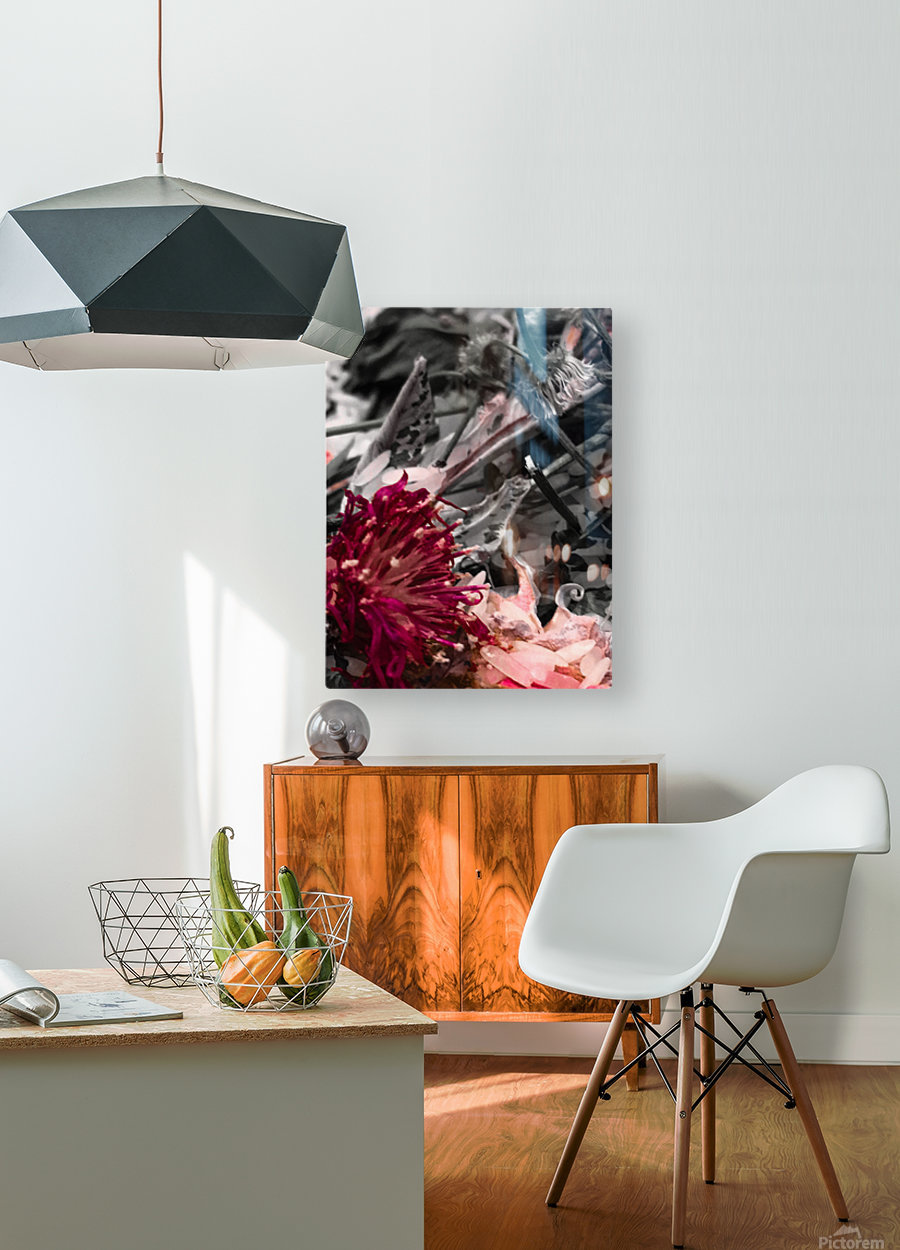 Offerings   Impression métal HD avec cadre flottant sur le dos