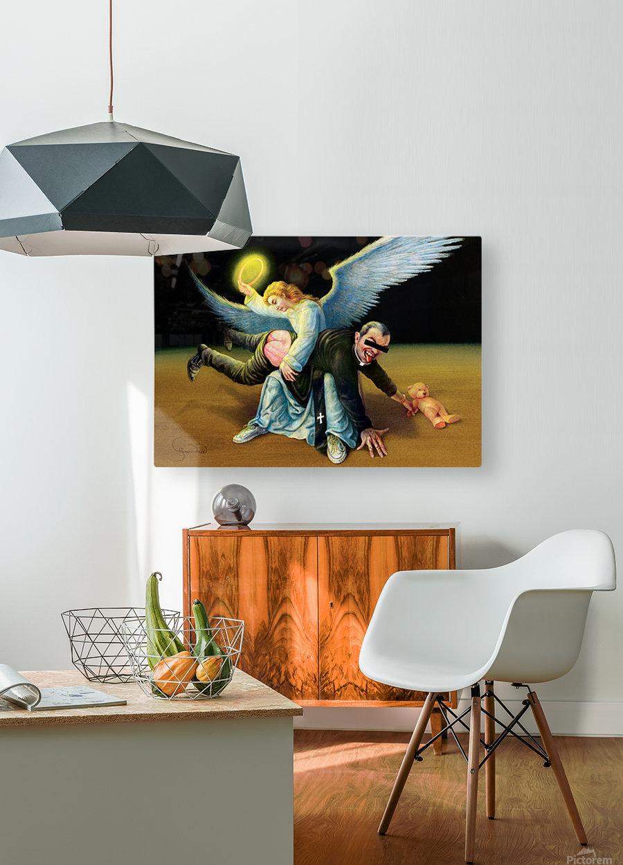 22 Krzysztof Grzondziel  HD Metal print with Floating Frame on Back