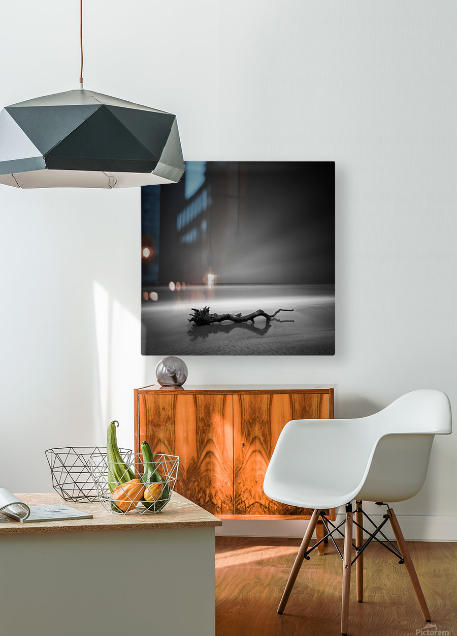 Serpent  HD Metal print with Floating Frame on Back