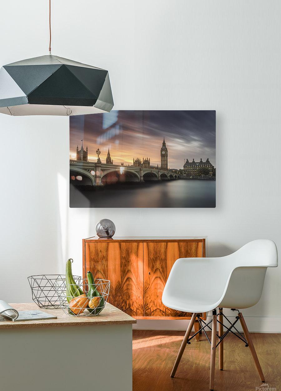 Big Ben, London  HD Metal print with Floating Frame on Back