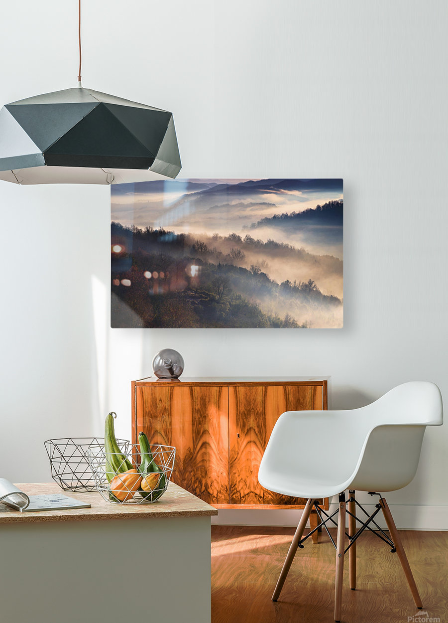 These Magic Moments  HD Metal print with Floating Frame on Back