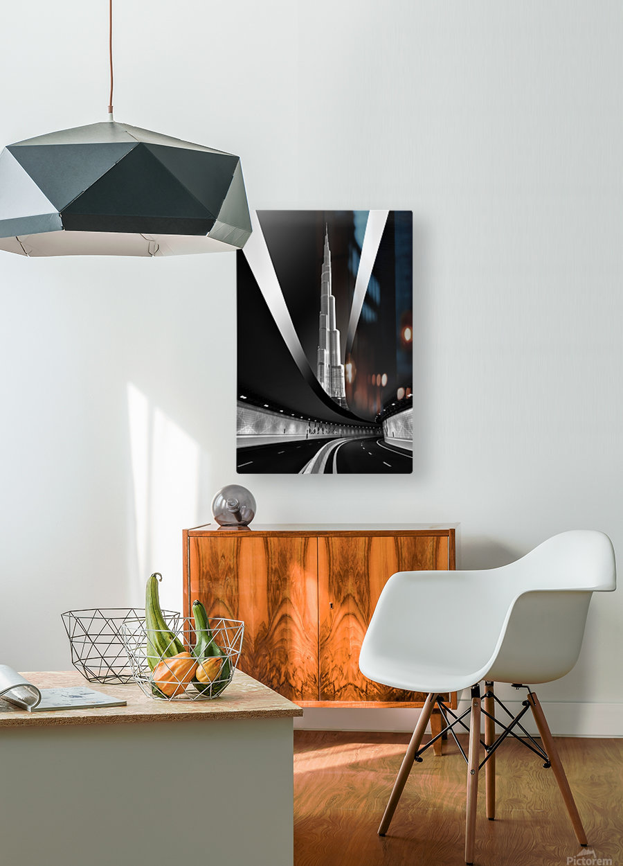 Fine Art  HD Metal print with Floating Frame on Back