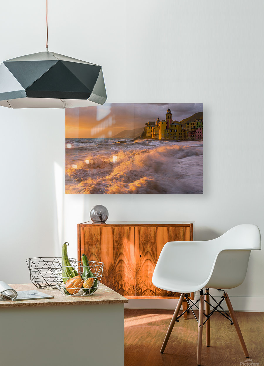Camogli  HD Metal print with Floating Frame on Back