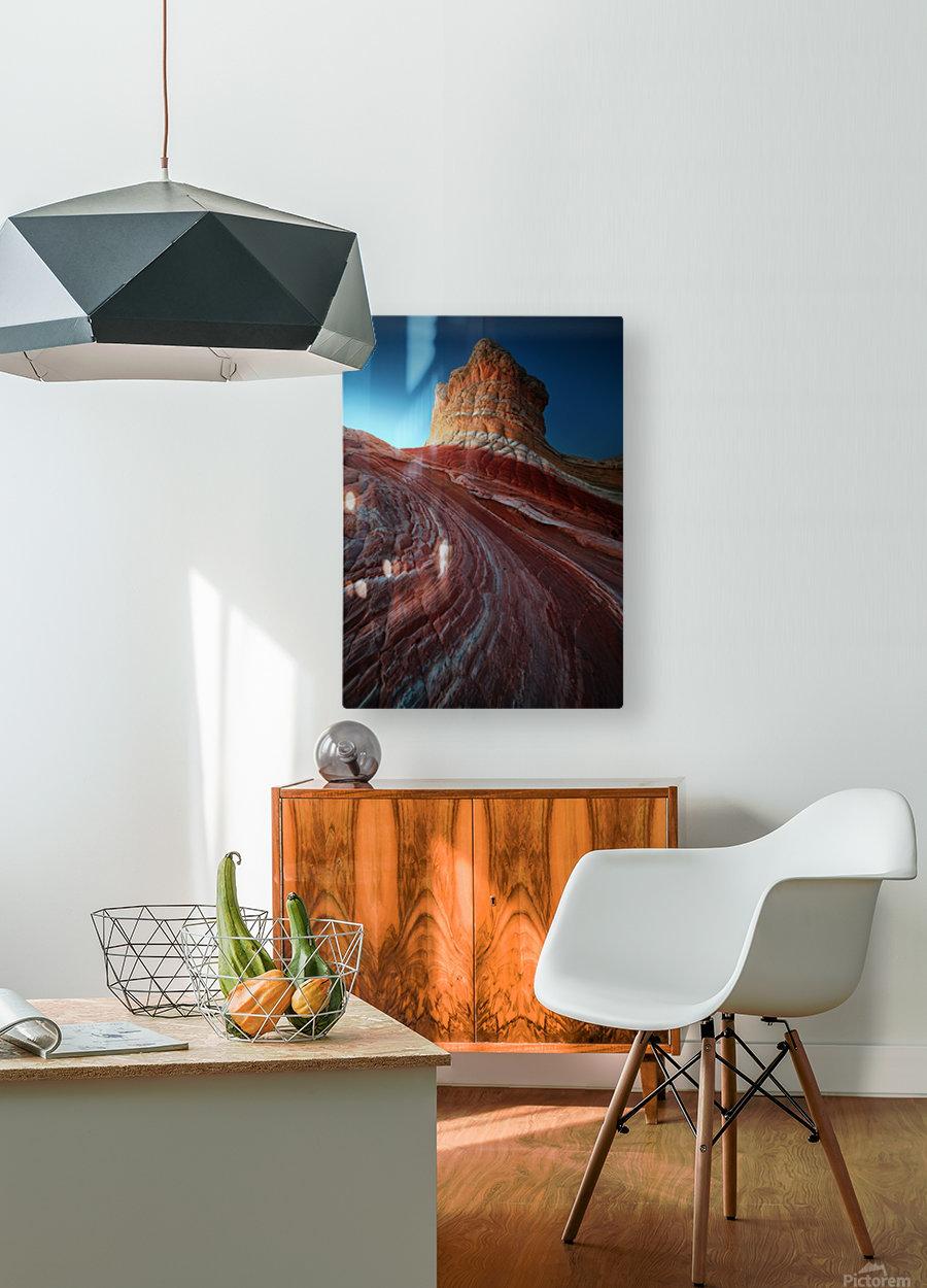 Lollipop rock  HD Metal print with Floating Frame on Back