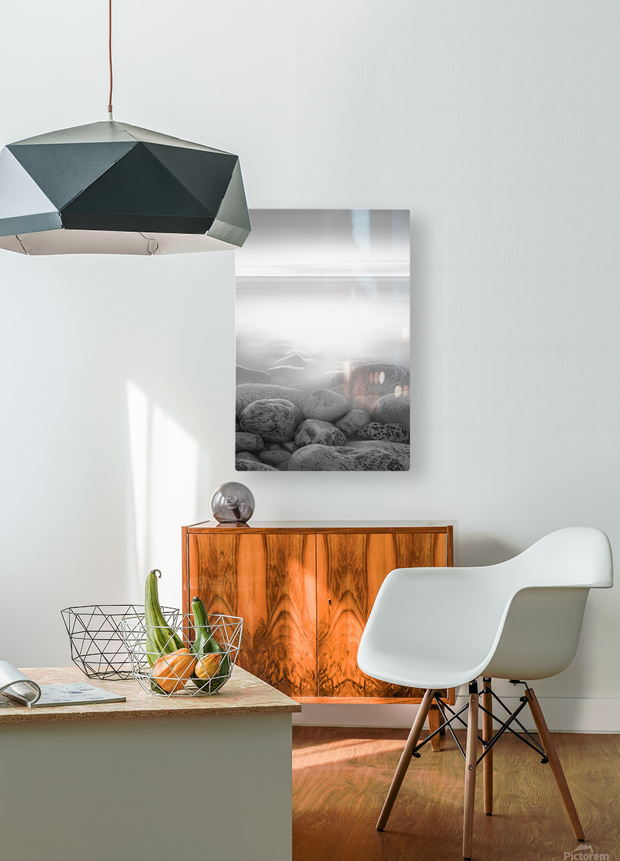 Moog Island  HD Metal print with Floating Frame on Back