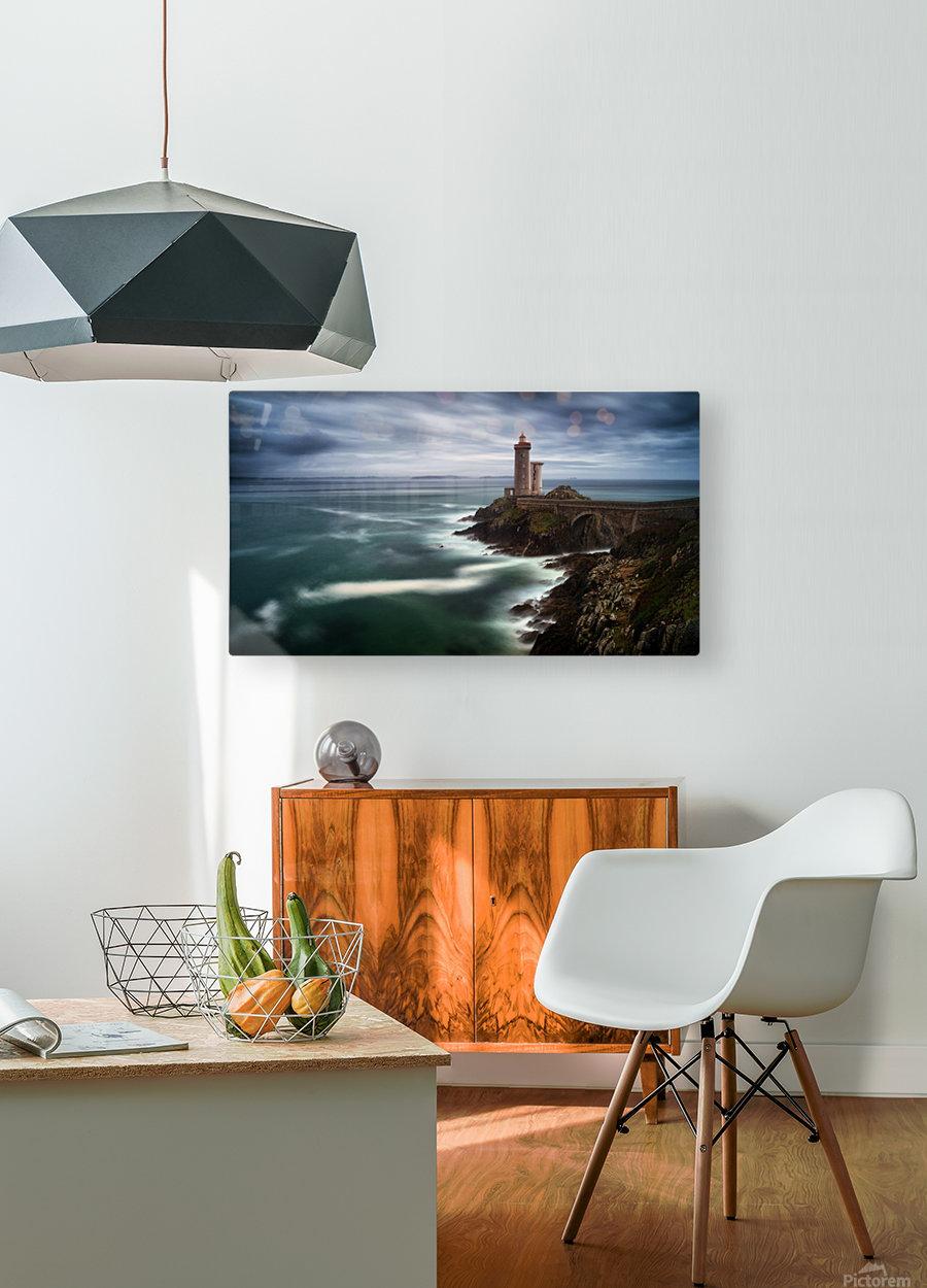 Le Minou  HD Metal print with Floating Frame on Back