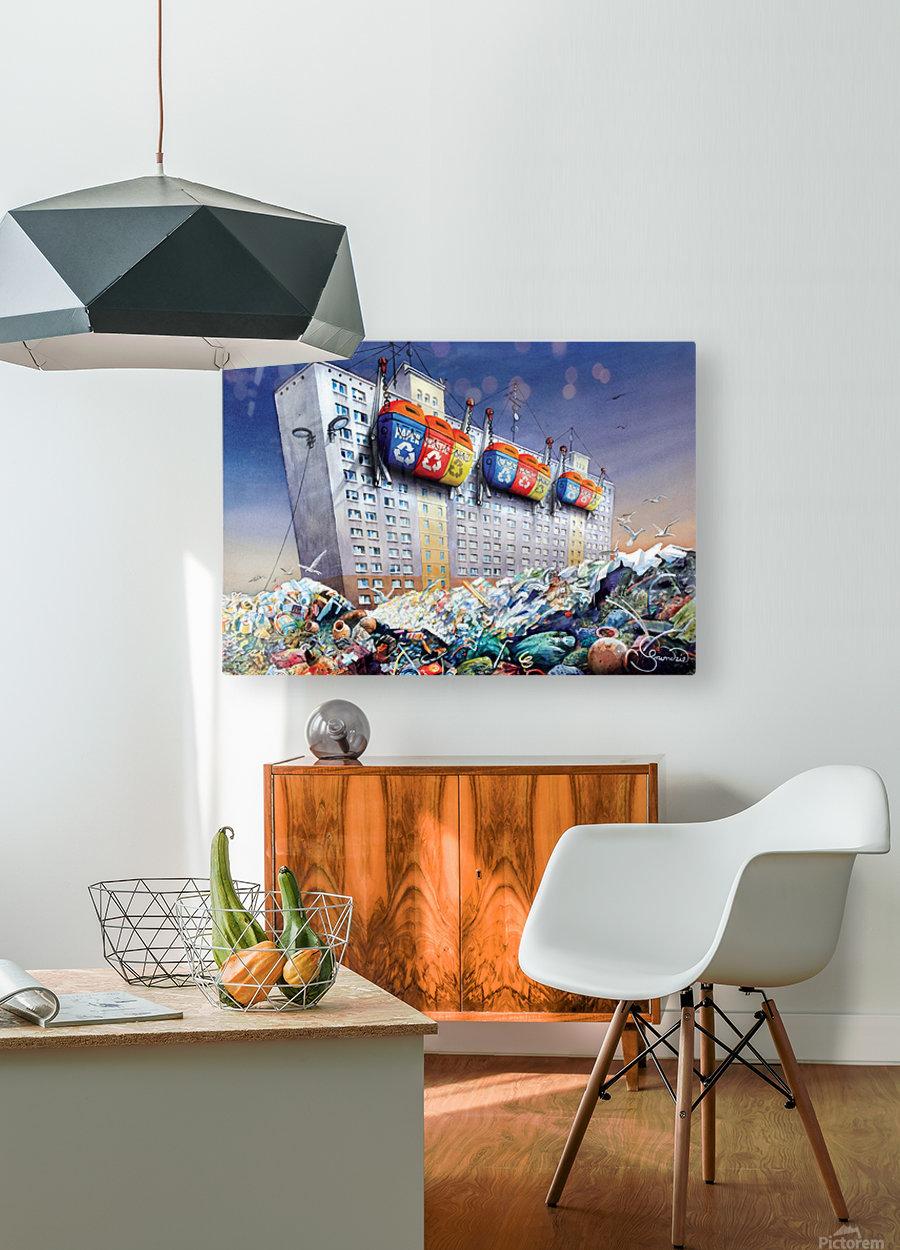 23 Krzysztof Grzondziel  HD Metal print with Floating Frame on Back