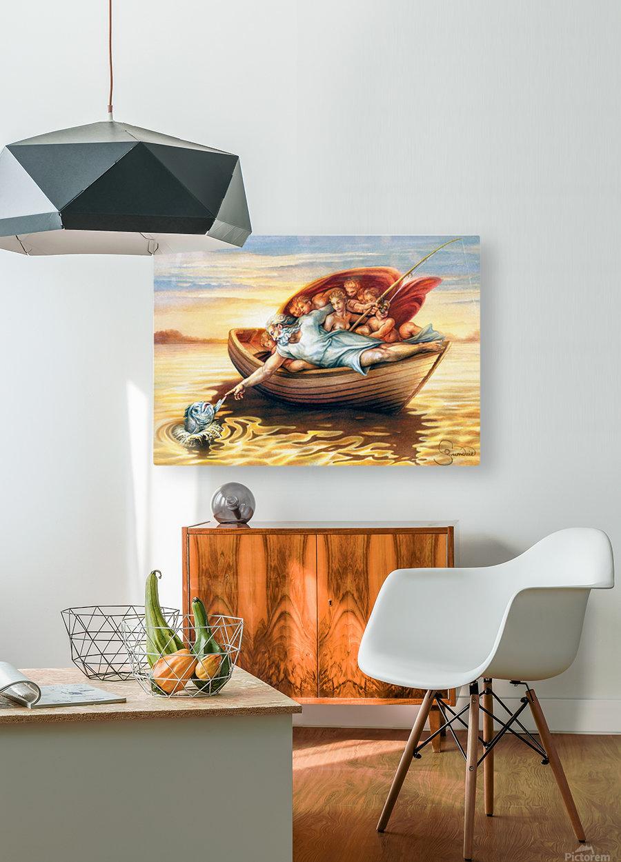 18 Krzysztof Grzondziel  HD Metal print with Floating Frame on Back