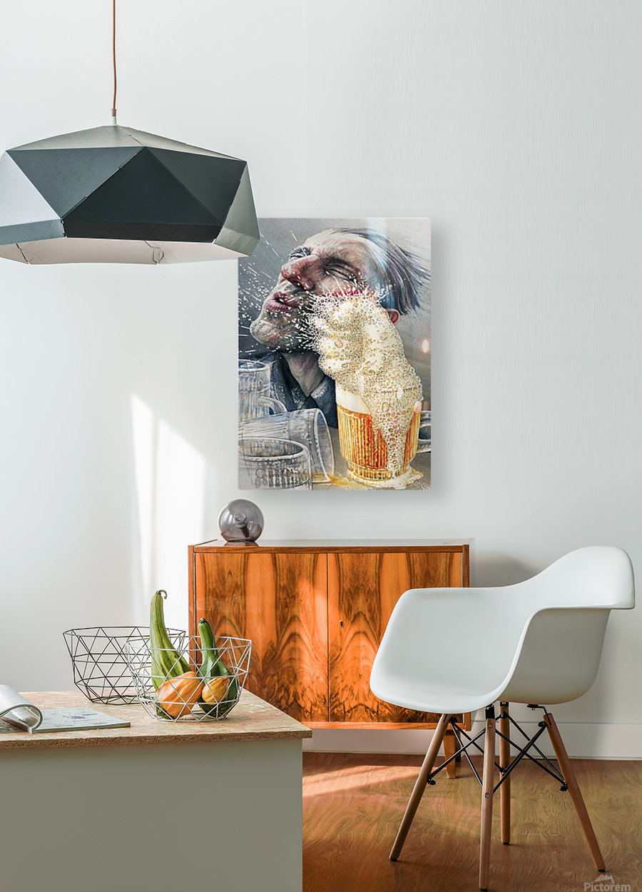 15 Krzysztof Grzondziel  HD Metal print with Floating Frame on Back