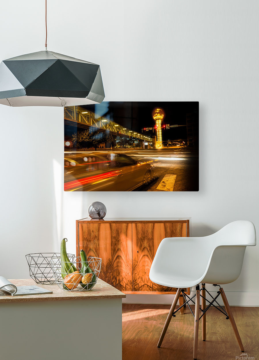 Henley @ Clinch  HD Metal print with Floating Frame on Back