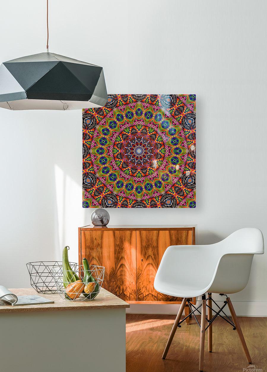 Cherga Mandala I  HD Metal print with Floating Frame on Back
