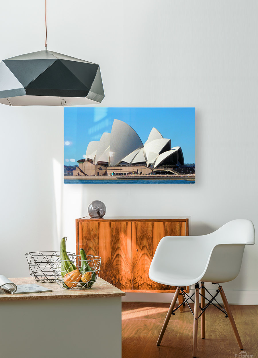 CitySydney3  HD Metal print with Floating Frame on Back