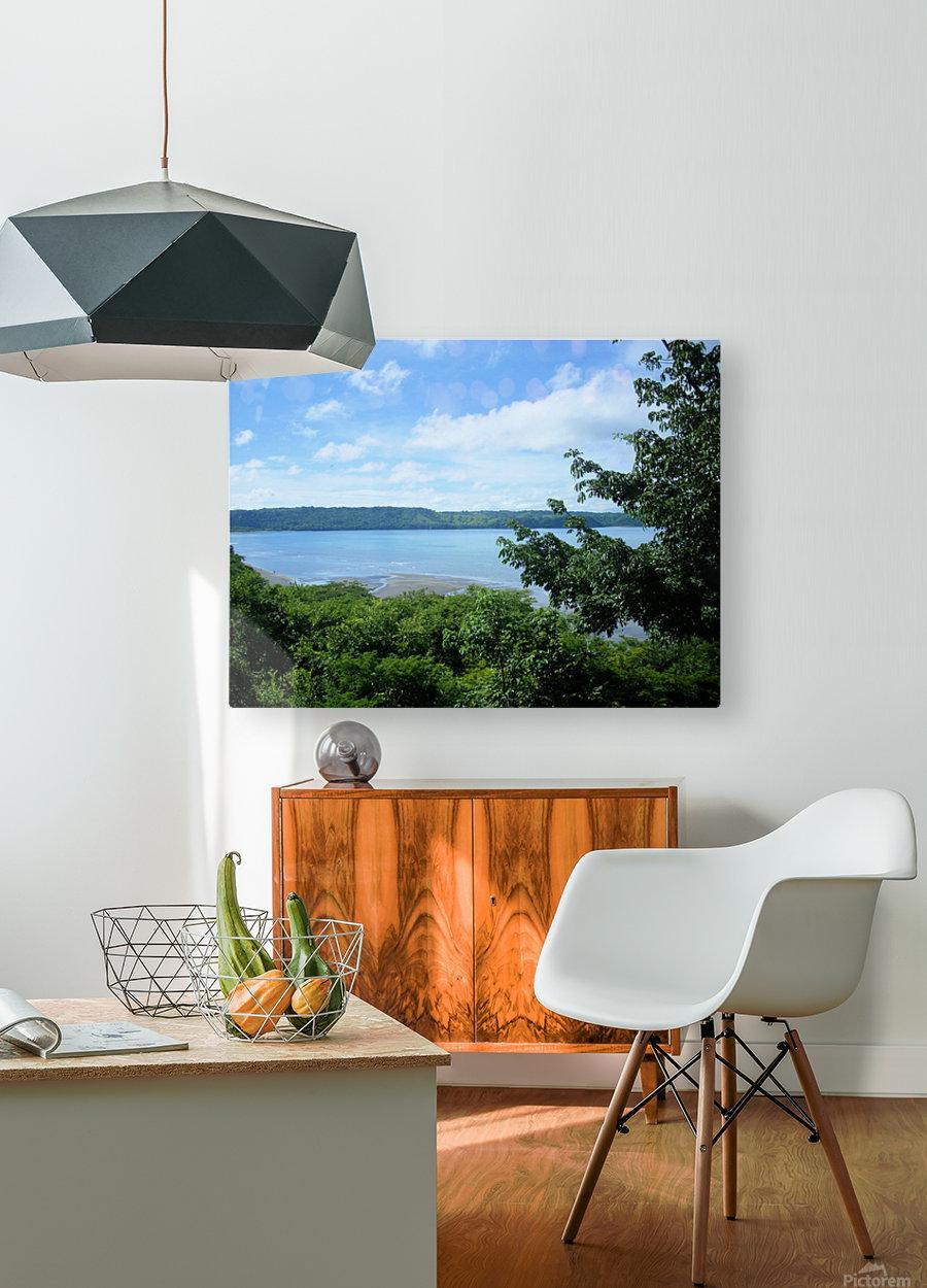 Landscape3  HD Metal print with Floating Frame on Back