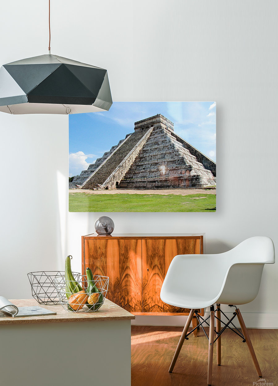 Myan2  HD Metal print with Floating Frame on Back