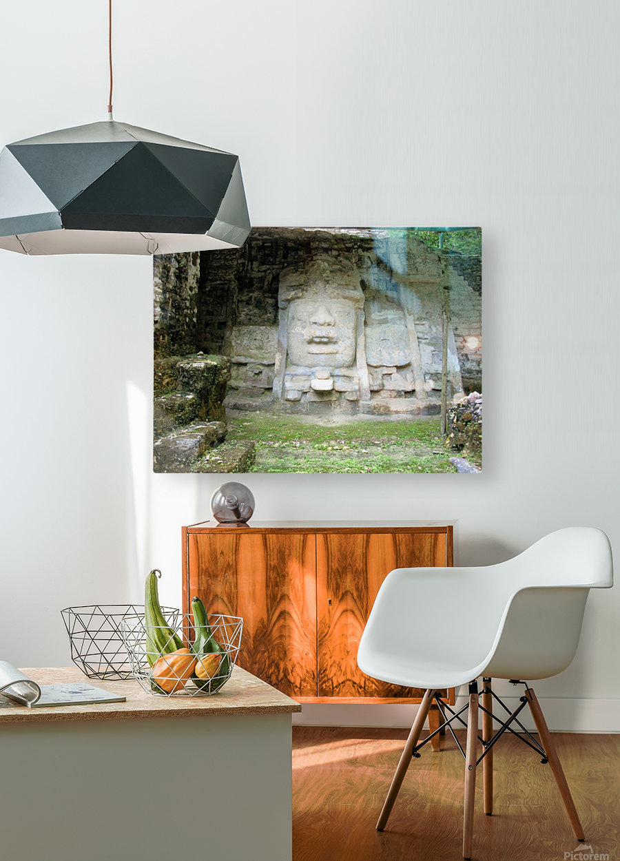 Myan13  HD Metal print with Floating Frame on Back