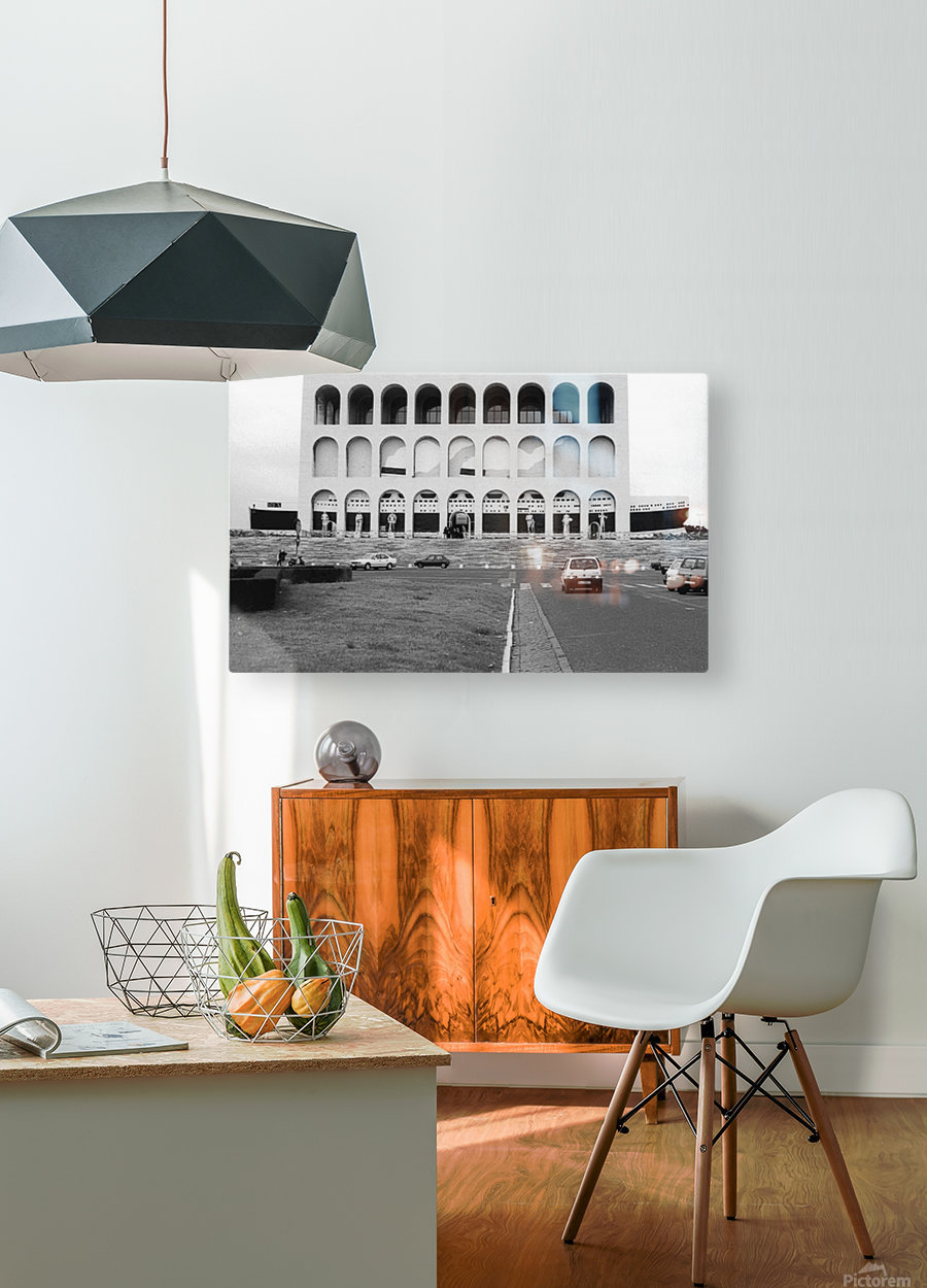 e la nave va 1  HD Metal print with Floating Frame on Back