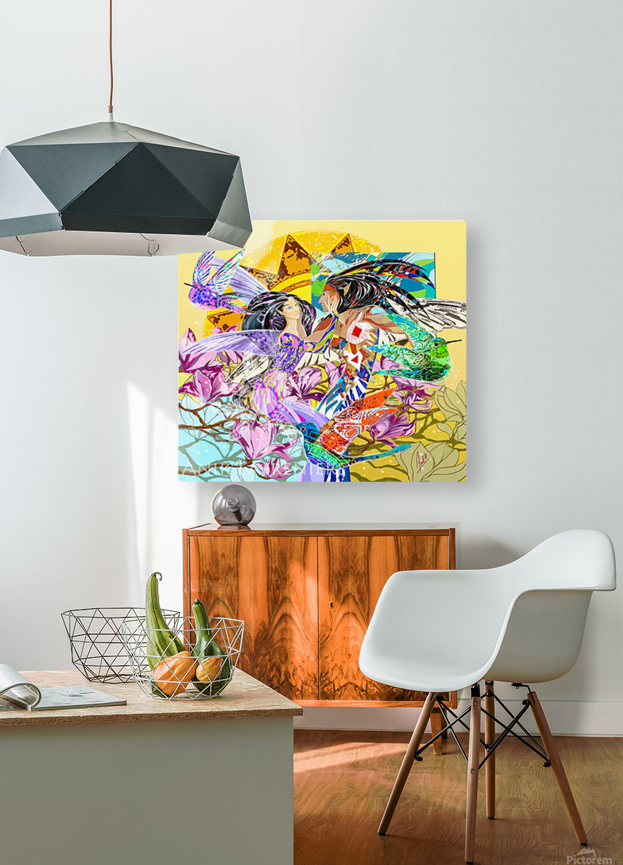Colibri_Nanatasis_Anik_Lafreniere  HD Metal print with Floating Frame on Back