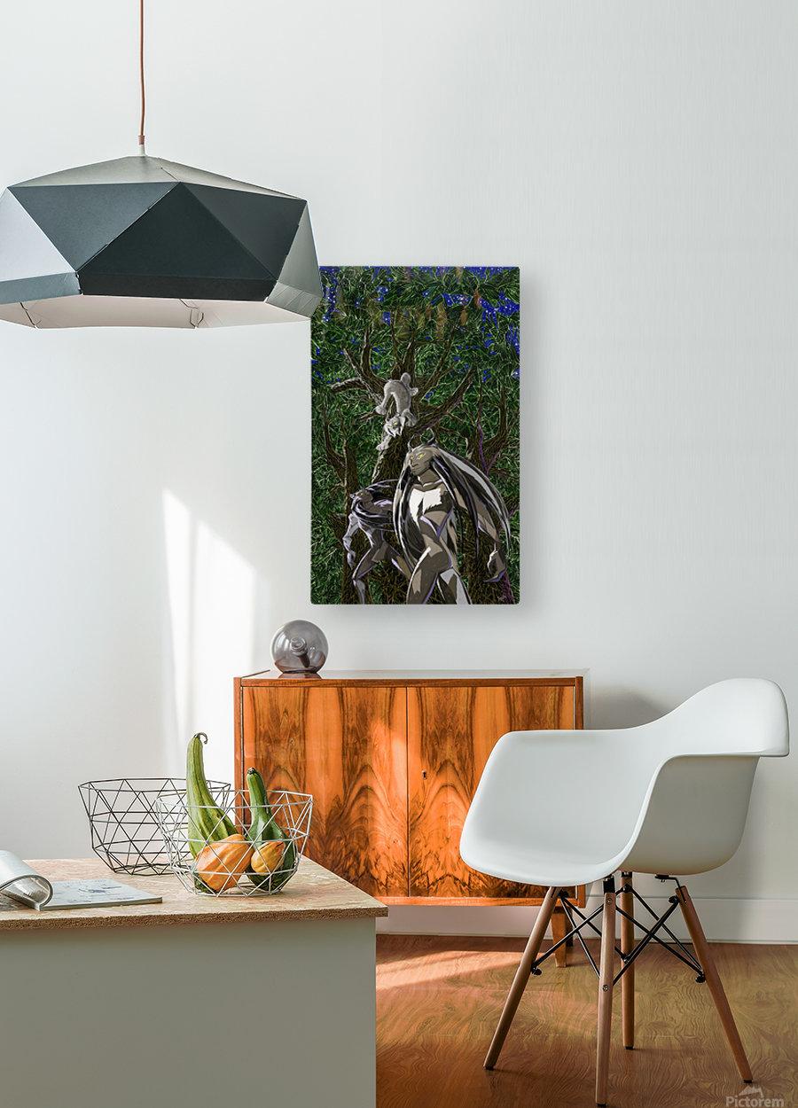 Lynx_Pesoak_Anik_Lafreniere  HD Metal print with Floating Frame on Back
