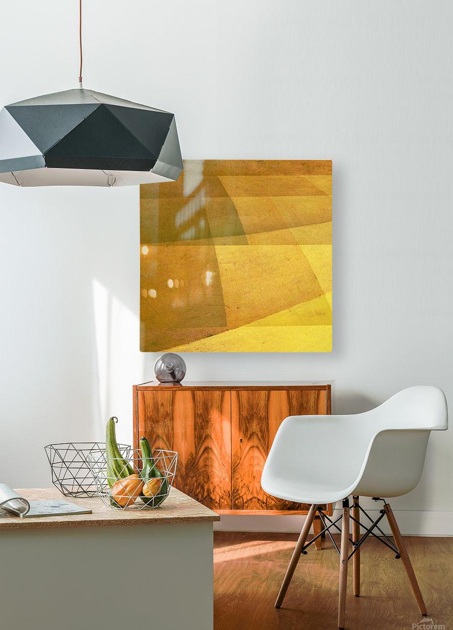 Harvest   HD Metal print with Floating Frame on Back