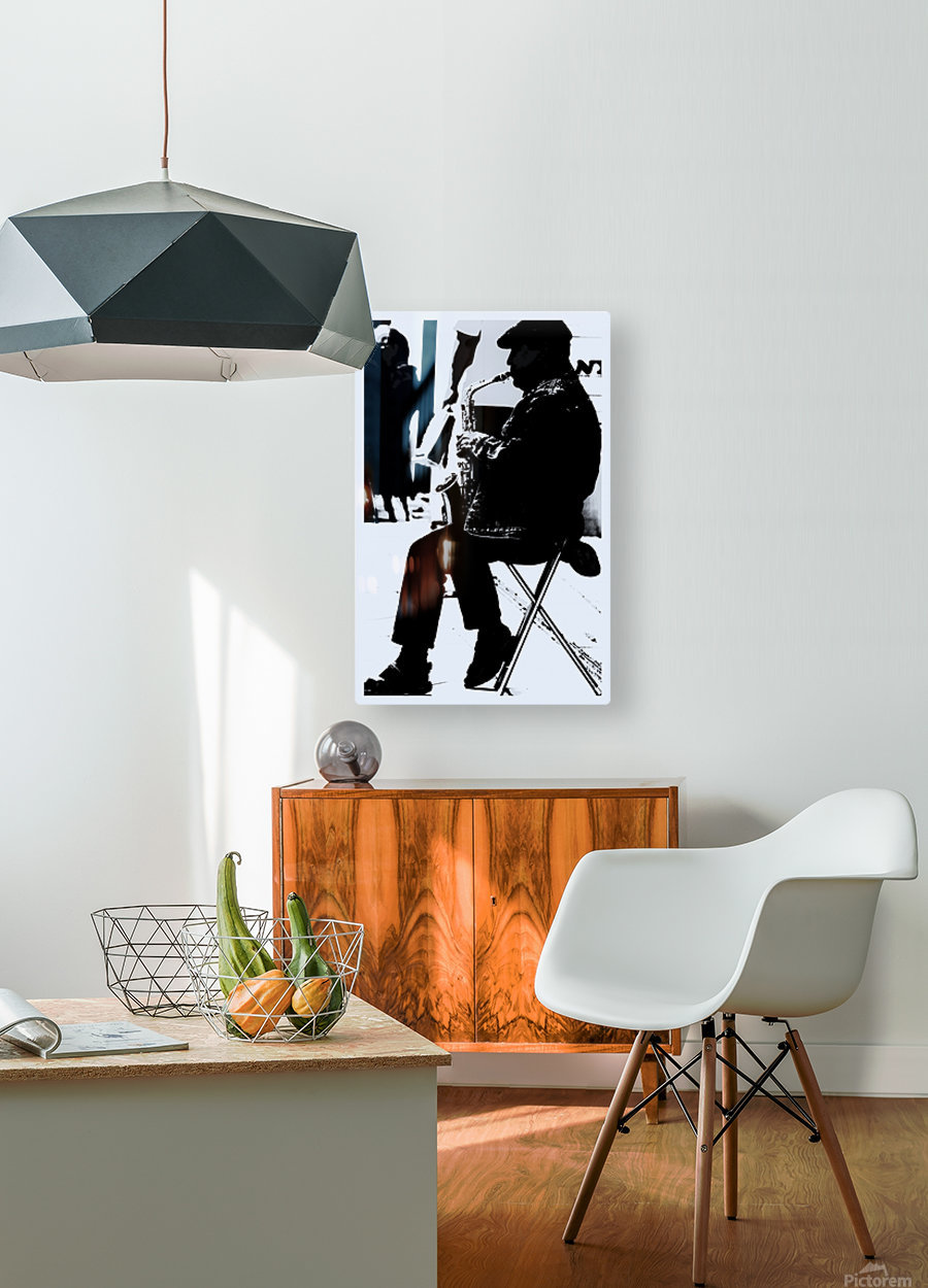 Busker II  HD Metal print with Floating Frame on Back