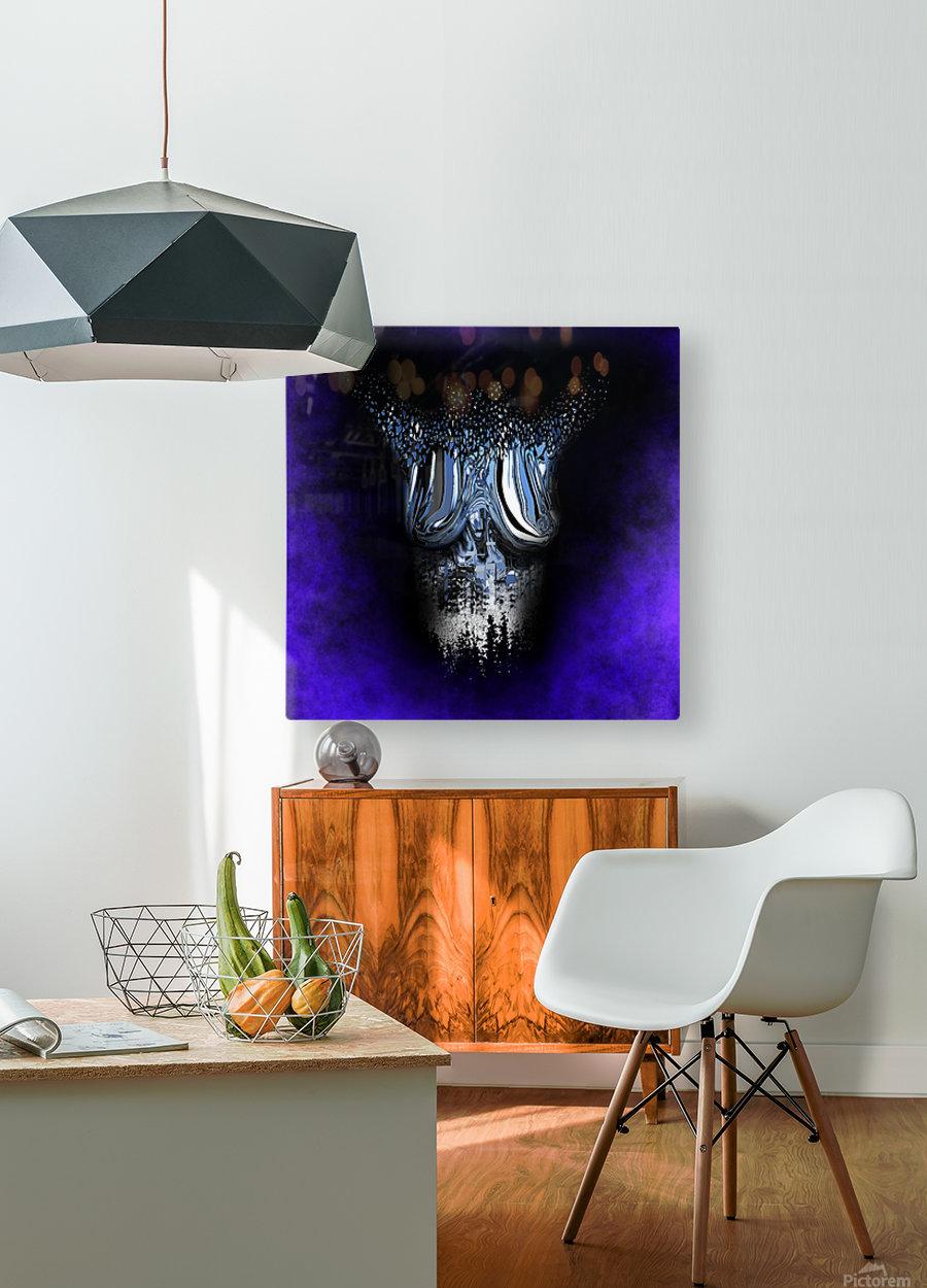 Ephemeral Desire 100  HD Metal print with Floating Frame on Back
