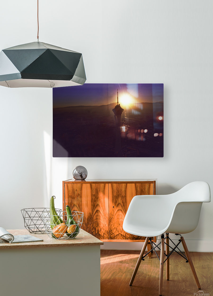 Stratosphere  HD Metal print with Floating Frame on Back
