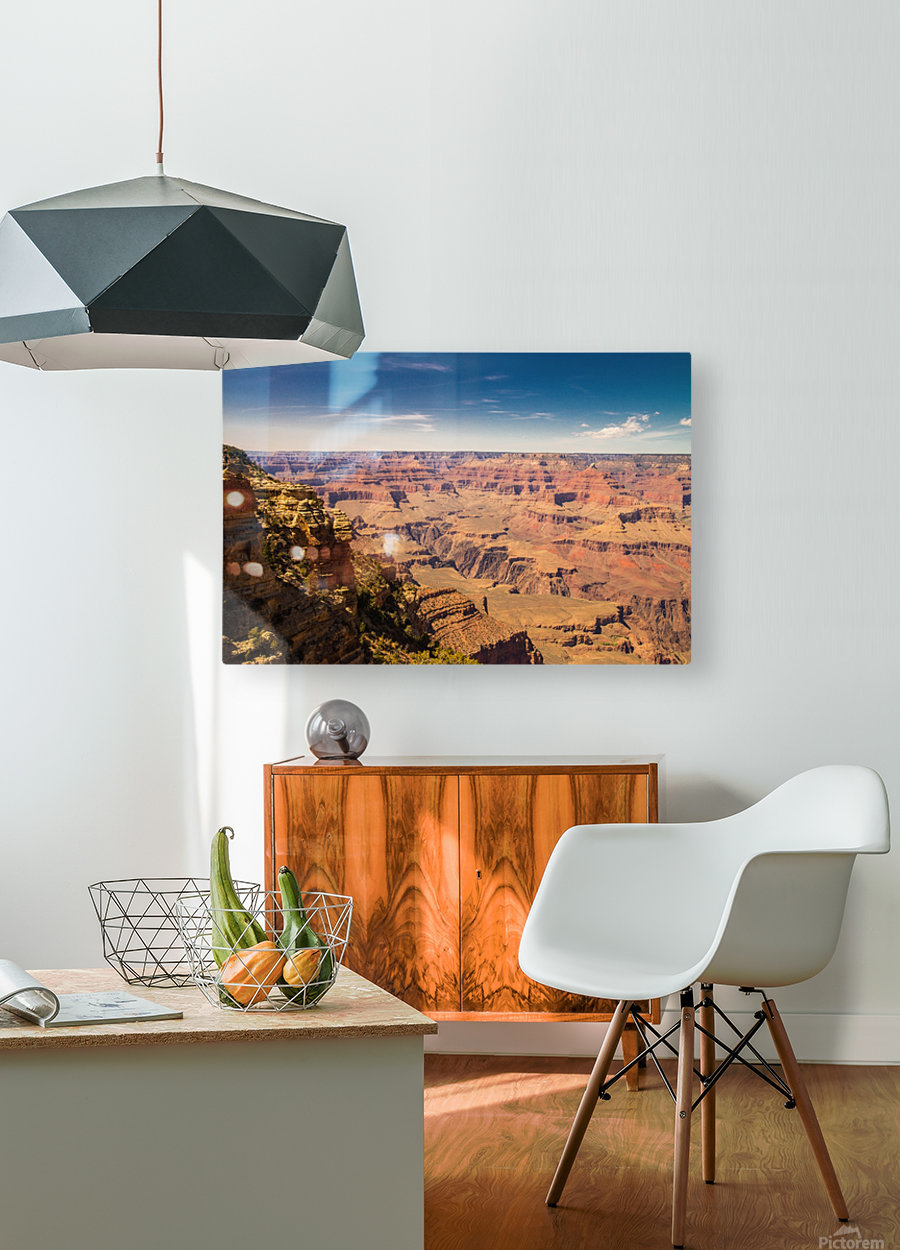 Grand Canyon  HD Metal print with Floating Frame on Back