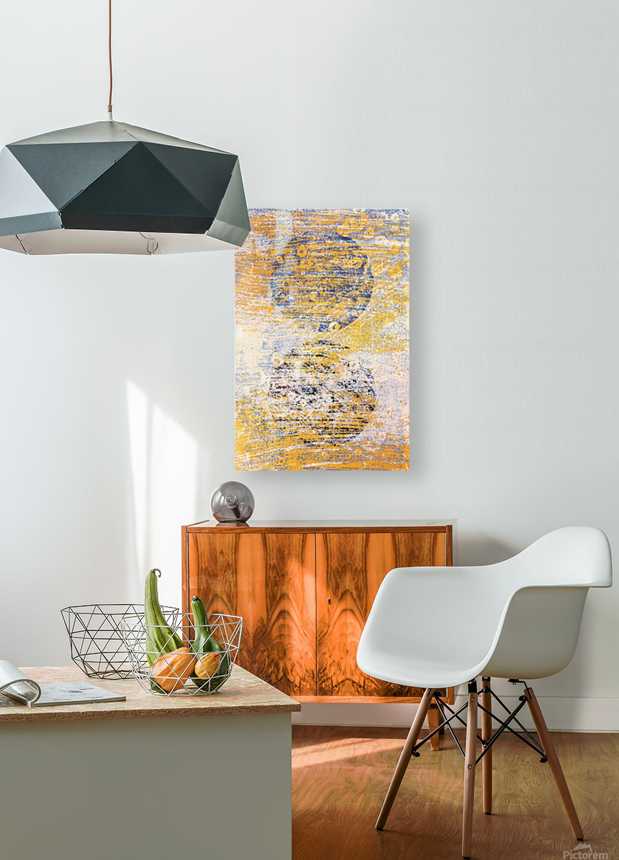 Abstract Painting  HD Metal print with Floating Frame on Back