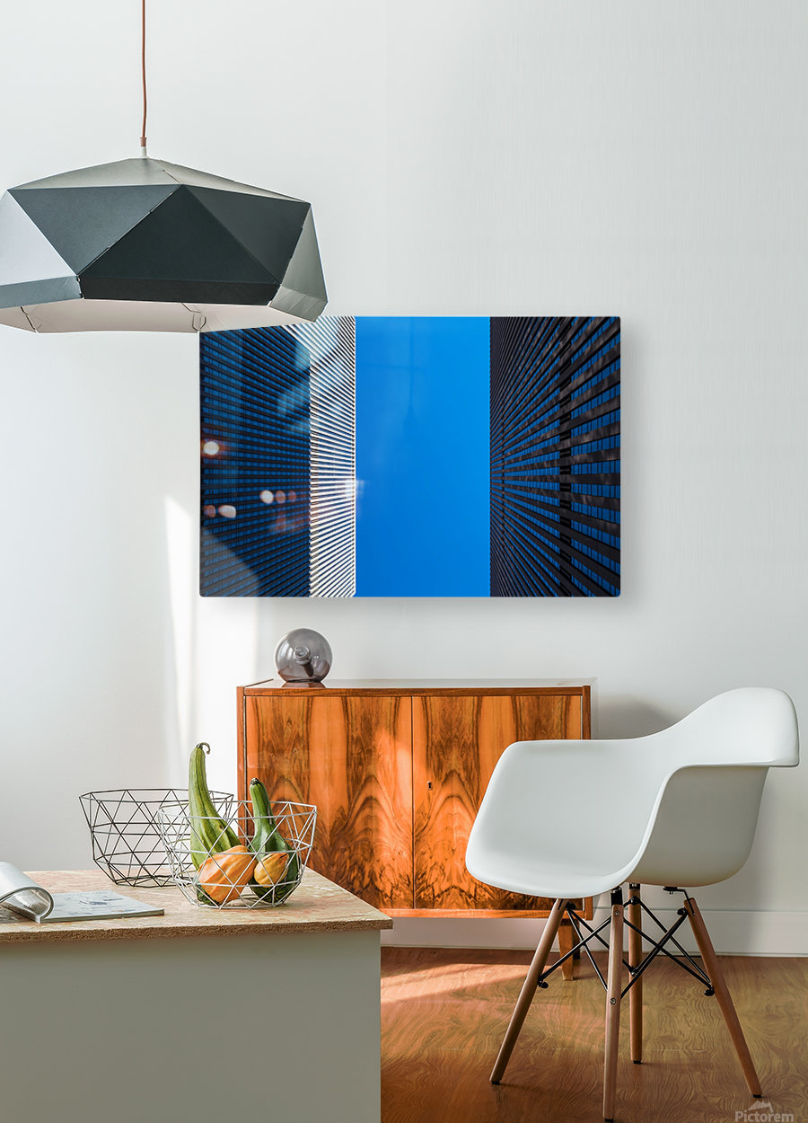 NEW YORK CITY 02  HD Metal print with Floating Frame on Back