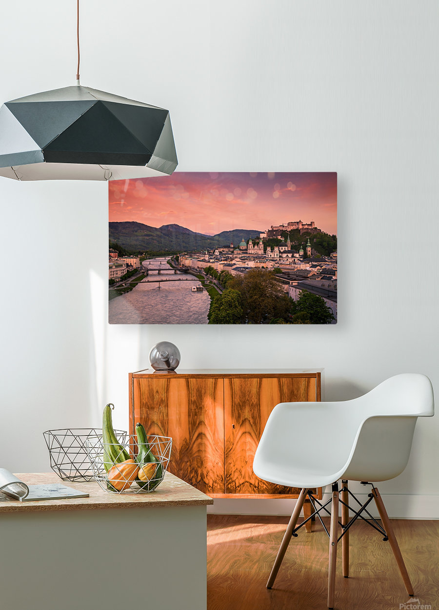 SALZBURG 02  HD Metal print with Floating Frame on Back