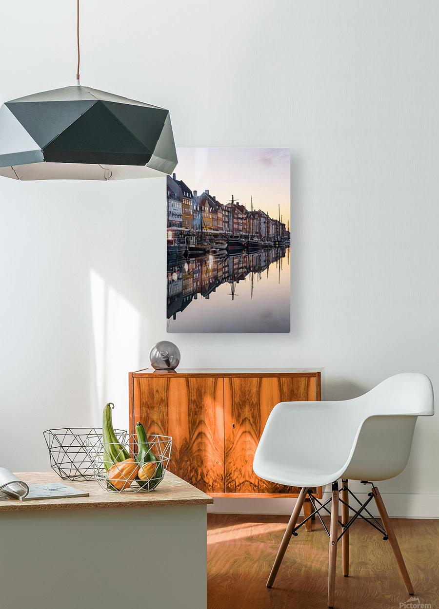 COPENHAGEN 02  HD Metal print with Floating Frame on Back