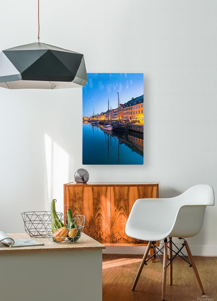 COPENHAGEN 07  HD Metal print with Floating Frame on Back