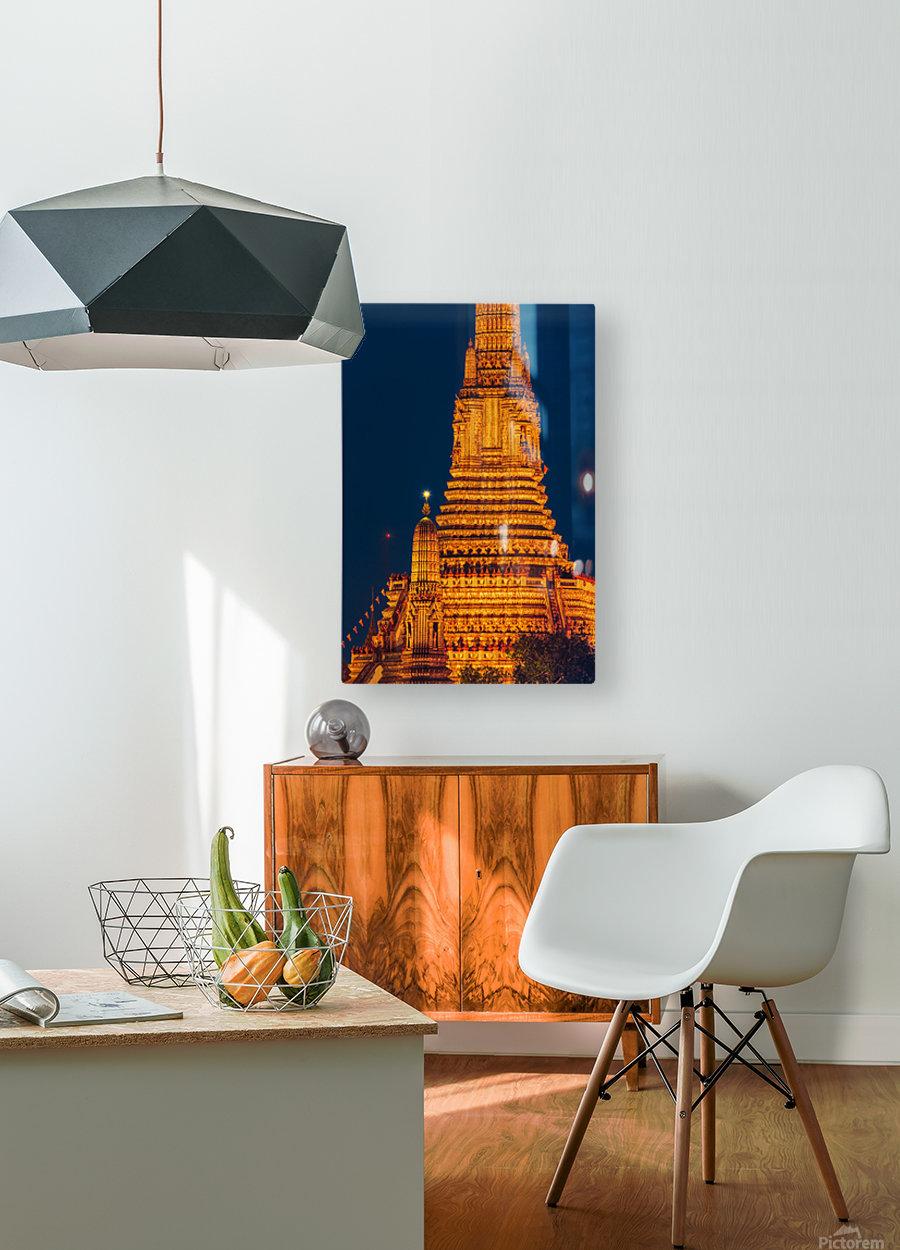 BANGKOK 04  HD Metal print with Floating Frame on Back