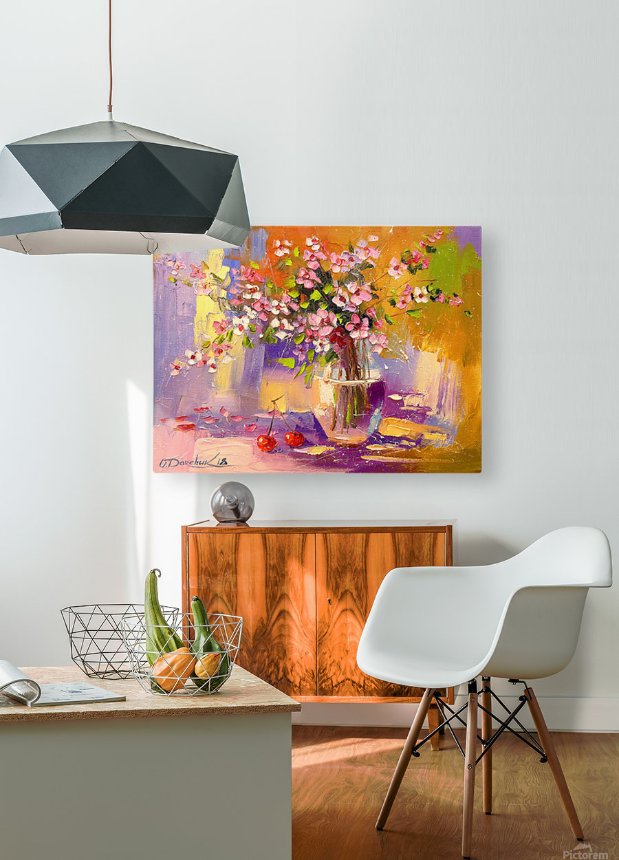 Still life  HD Metal print with Floating Frame on Back