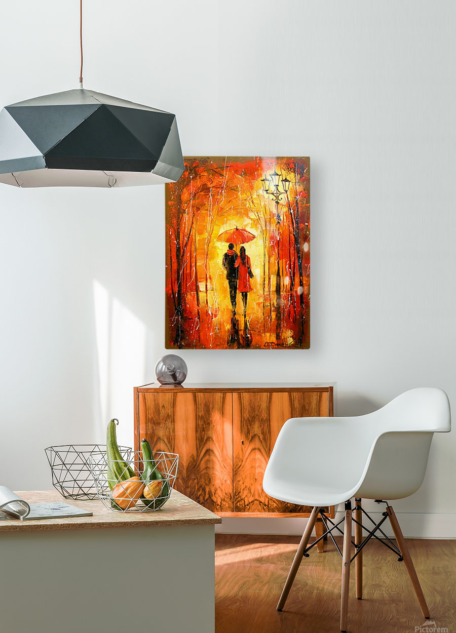 Walk in the Park  HD Metal print with Floating Frame on Back