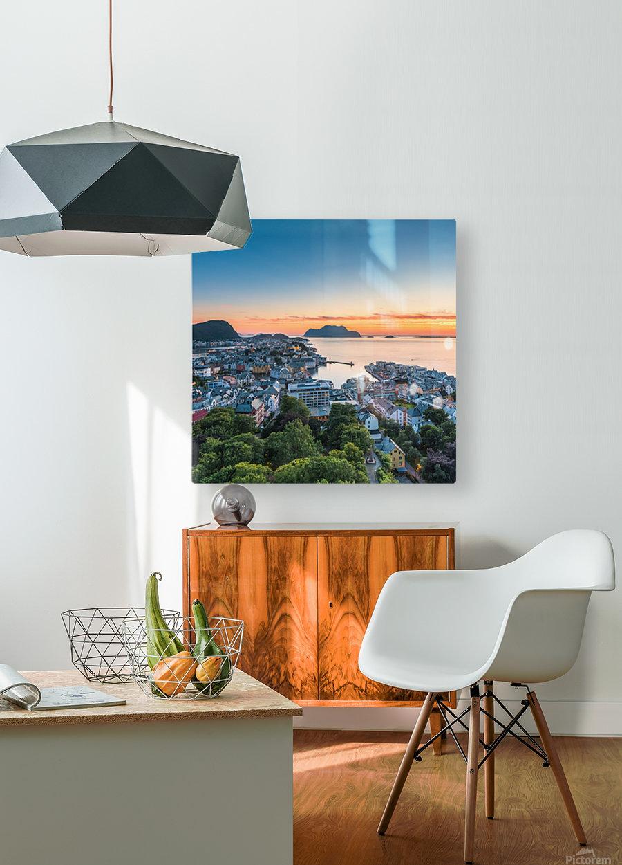 ÅLESUND 01   HD Metal print with Floating Frame on Back
