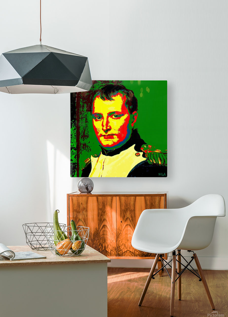 NAPOLEON  -  by Neil Gairn Adams  HD Metal print with Floating Frame on Back