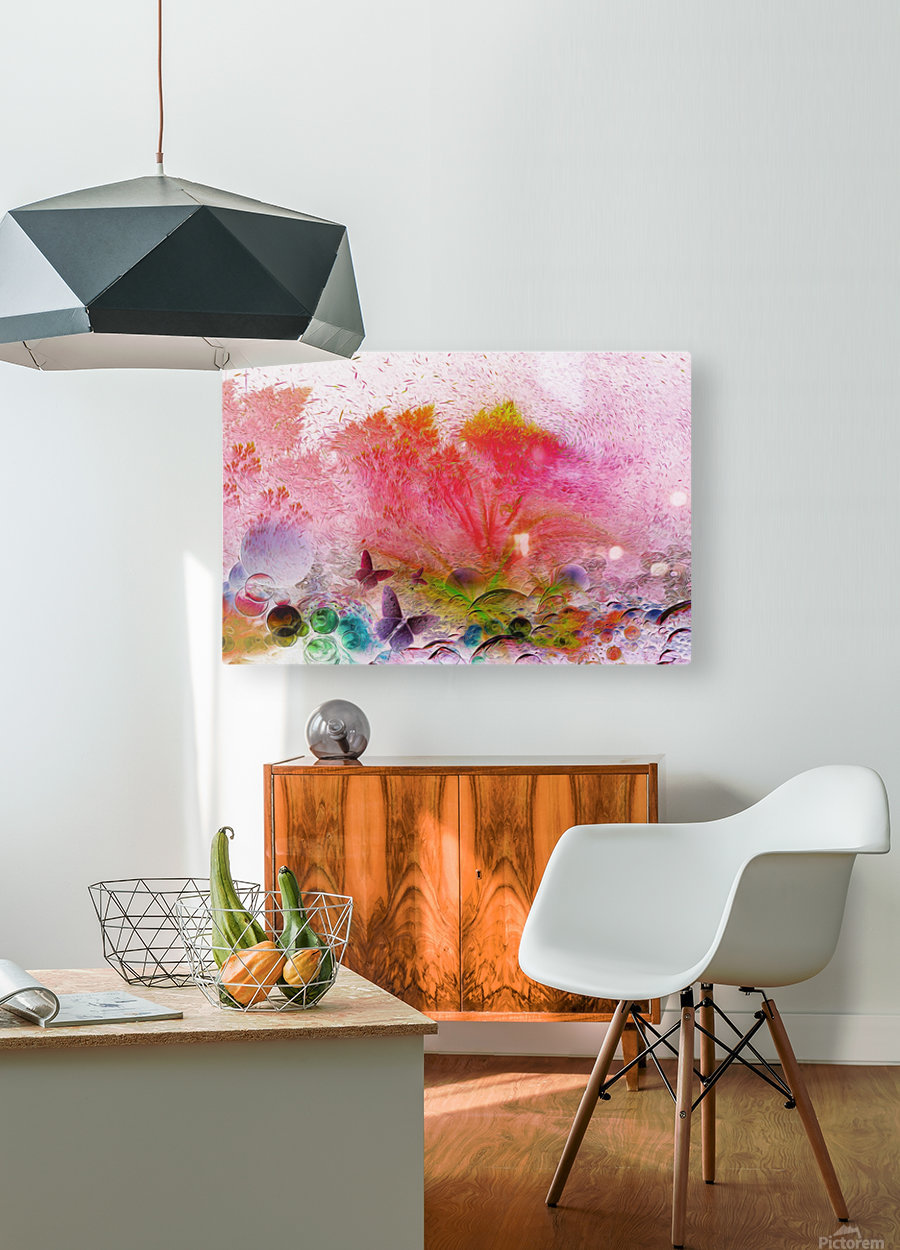 soft wind 6  HD Metal print with Floating Frame on Back