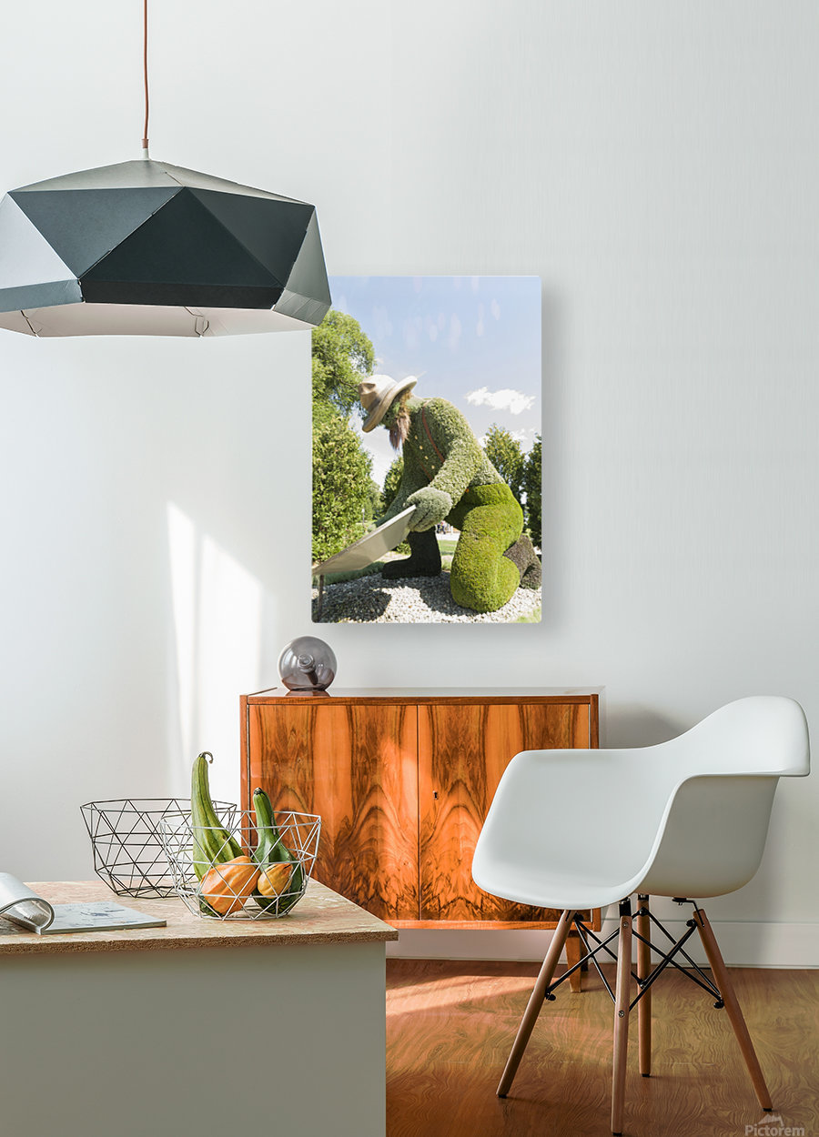 Yukons entry: The Prospector 1  HD Metal print with Floating Frame on Back