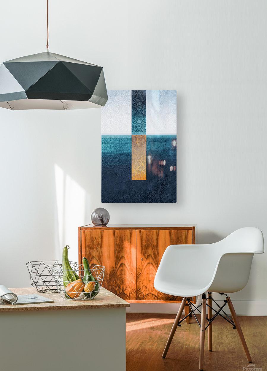 Modern Art I  HD Metal print with Floating Frame on Back