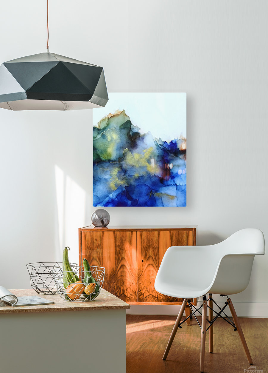 Tip of the Iceberg  HD Metal print with Floating Frame on Back