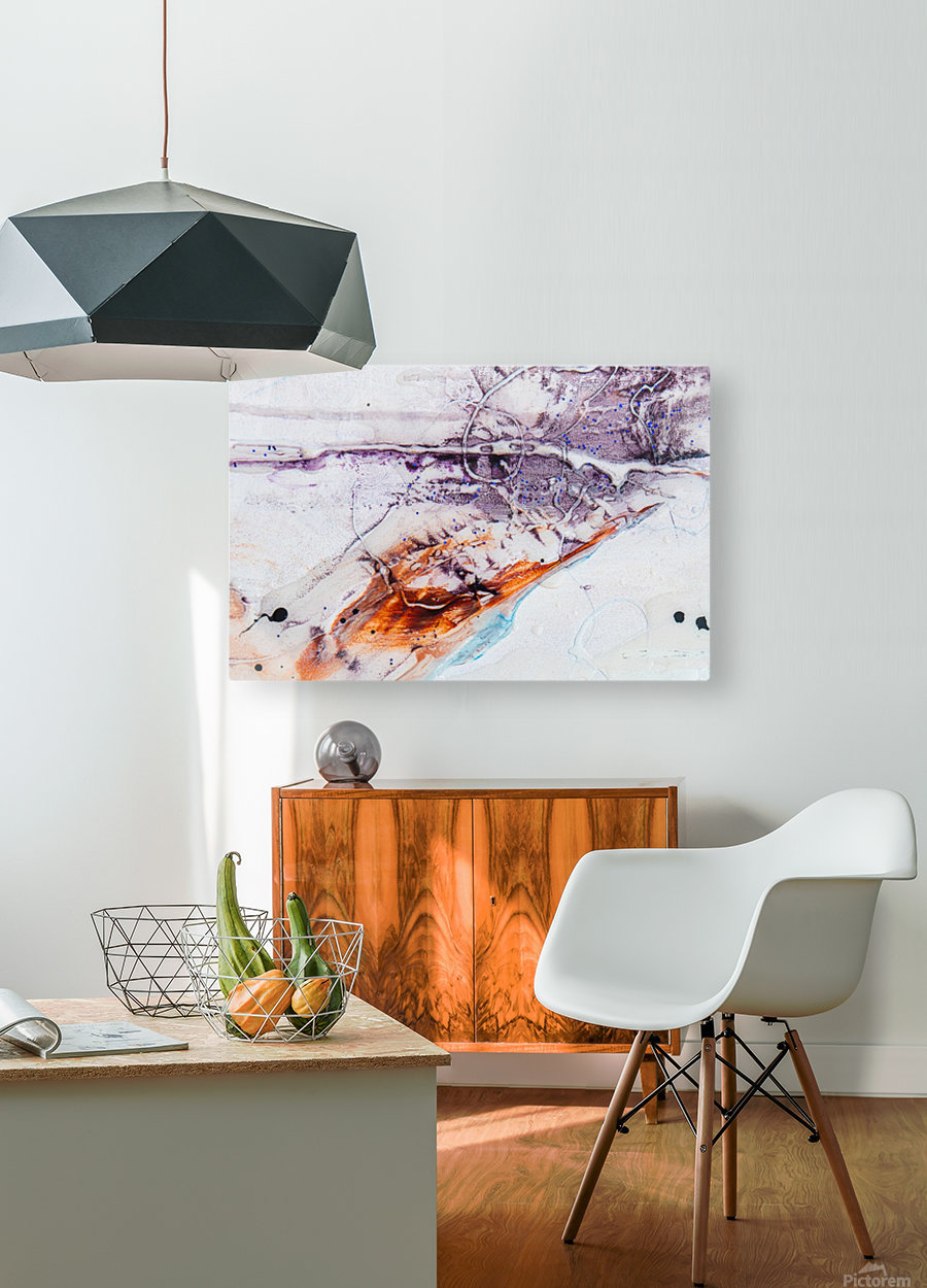 Sophia Cinq  HD Metal print with Floating Frame on Back