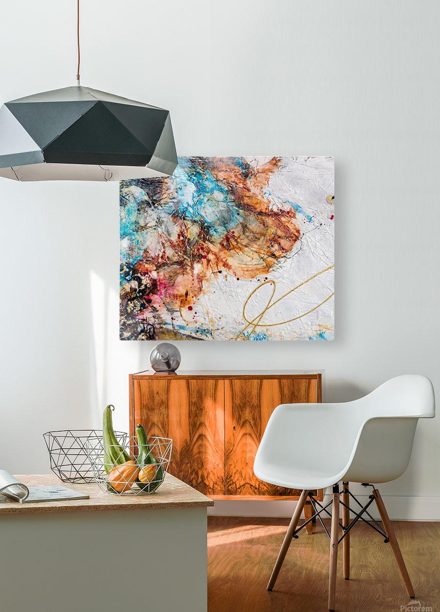Sophia Six  HD Metal print with Floating Frame on Back