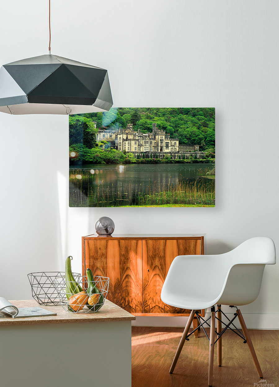 G 021 Kylemore Abbey  HD Metal print with Floating Frame on Back